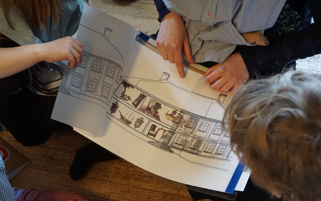 Children's Tour of Gathenhielmska – Workshop 3 Report